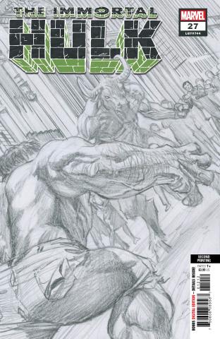 The Immortal Hulk #27 (Alex Ross 2nd Printing)
