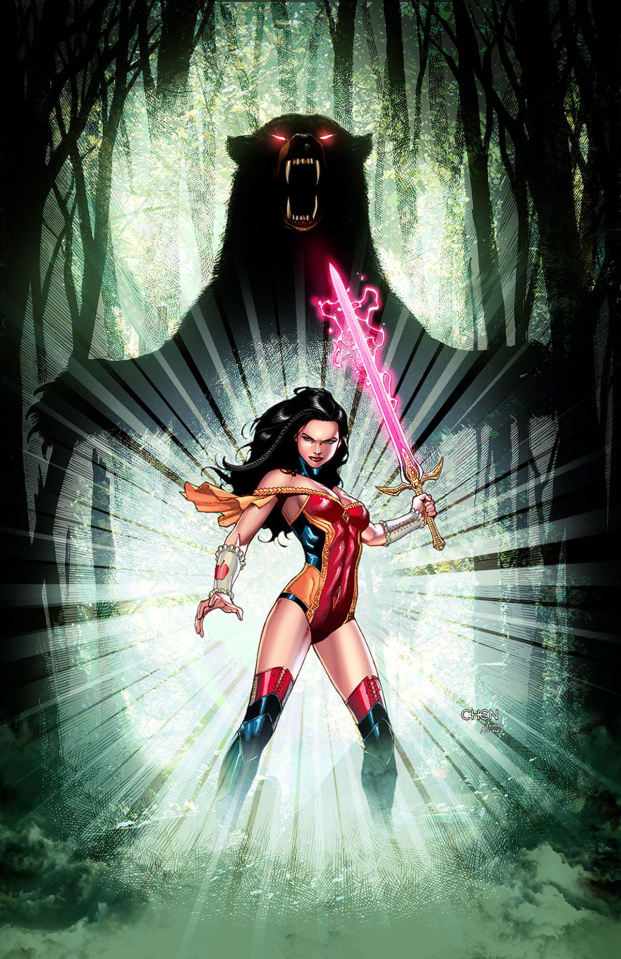 Grimm Fairy Tales #10 (Chen Cover)
