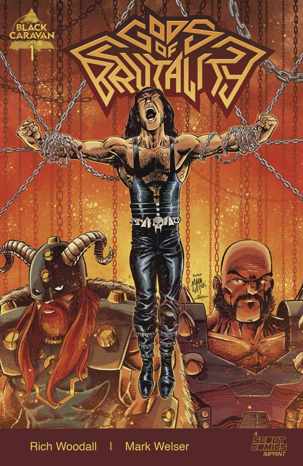 Gods of Brutality #1 (10 Copy Welser Unlocked Cover)