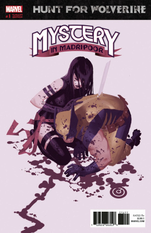 Hunt for Wolverine: The Mystery in Madripoor #1 (Bachalo Cover)
