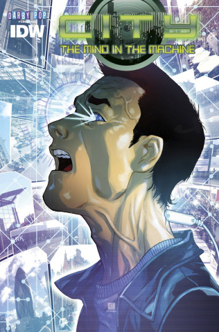 City: The Mind in the Machine #2 (Subscription Cover)