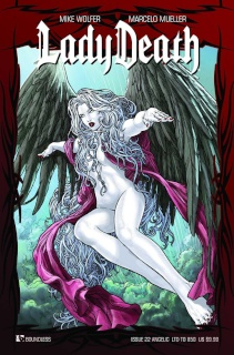Lady Death #22 (Angelic Cover)