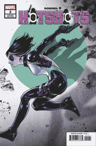 Domino: Hotshots #2 (Shirahama Cover)