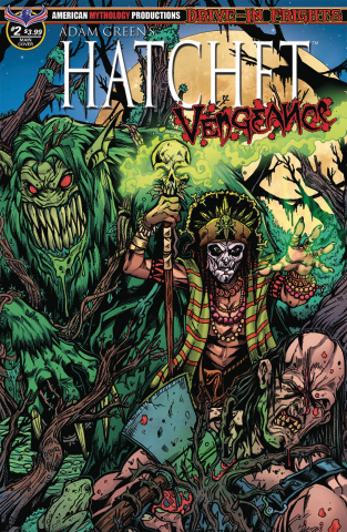 Hatchet: Vengeance #2 (Voodoo Calzada Cover)