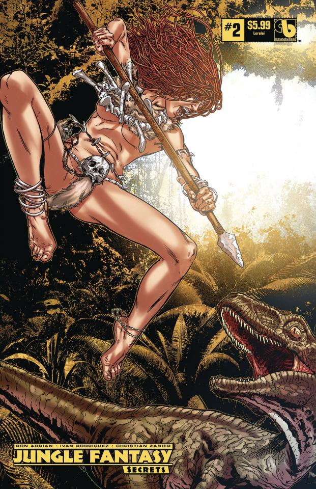 Jungle Fantasy: Secrets #2 (Lorelei Cover)