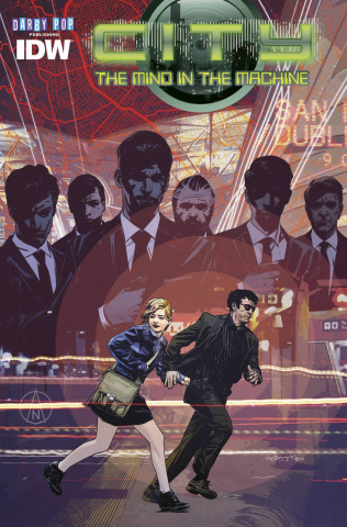 City: The Mind in the Machine #3 (Subscription Cover)