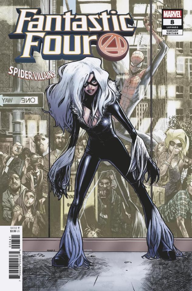 Fantastic Four #8 (Ramos Spider-Man Villains Cover)