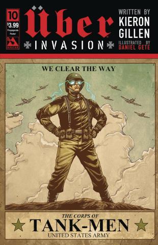 Über: Invasion #10 (Propaganda Poster Cover)