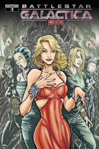 Battlestar Galactica: Six #2 (Bolson Cover)