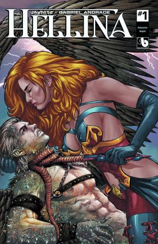 Hellina #1 (Angelic Cover)