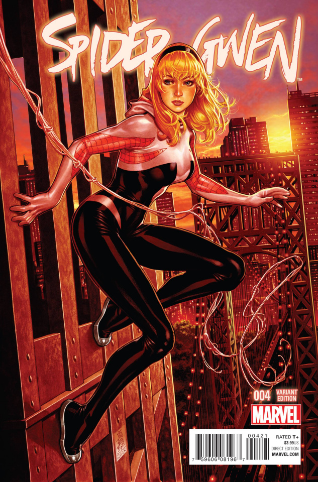 Spider-Gwen #4 (NYC Cover)