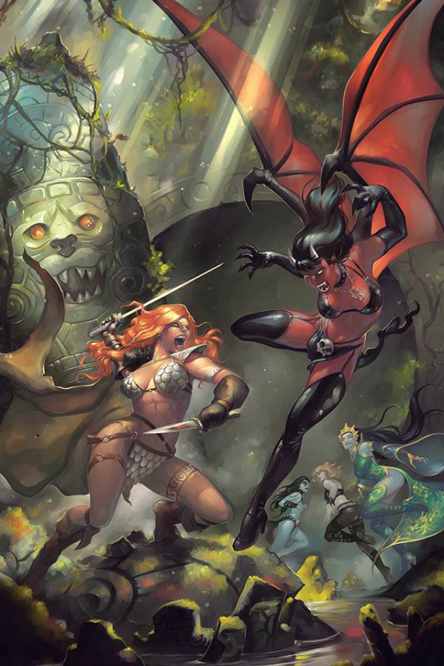 Red Sonja: Age of Chaos #1 (25 Copy Hetrick Virgin Cover)