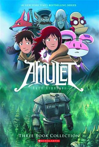 Amulet Vols. 1-3