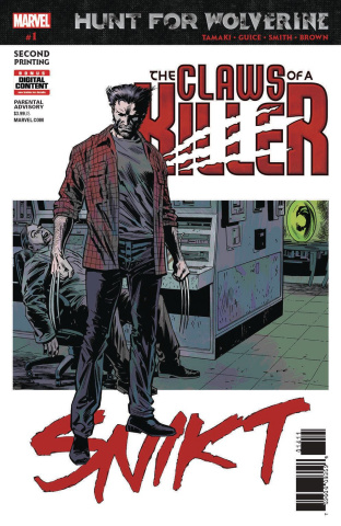 Hunt for Wolverine: The Claws of a Killer #1 (Guice 2nd Printing)