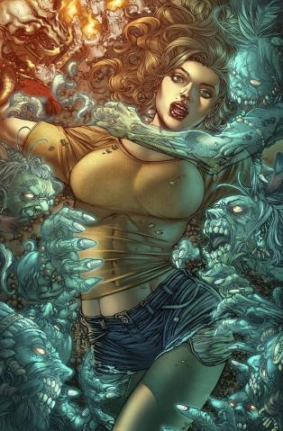 Grimm Fairy Tales: Dark Shaman #2 (Tolibao Cover)
