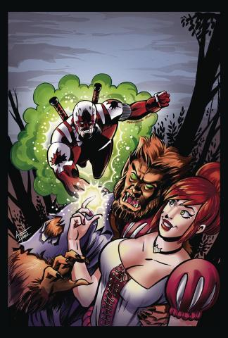 Captain Canuck #10 (Ruiz Cover)