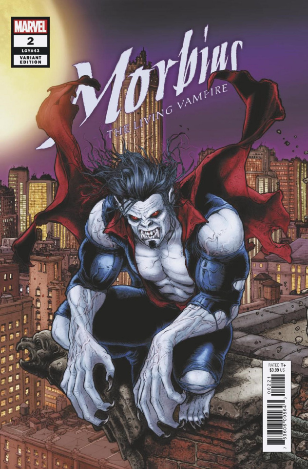 Morbius #2 (Ryp Connecting Cover)
