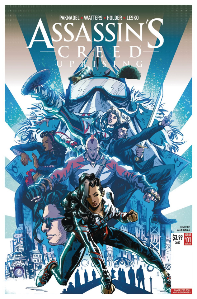 Assassin's Creed: Uprising #6 (Holder Cover)