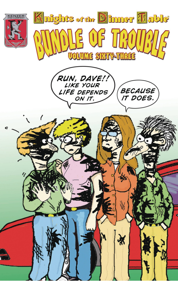 Knights of the Dinner Table: Bundle of Trouble Vol. 63