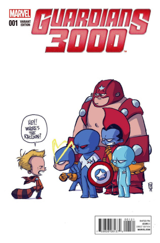 Guardians 3000 #1 (Young Cover)