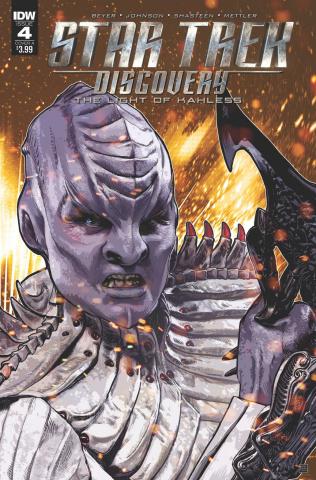 Star Trek: Discovery #4 (Shasteen Cover)