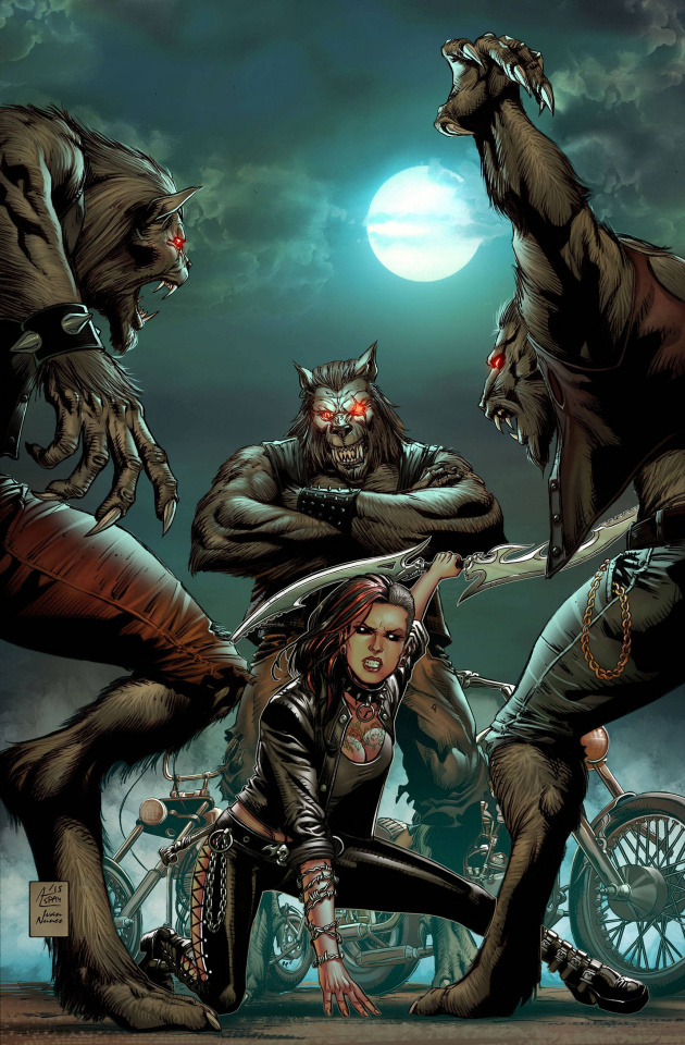 Grimm Fairy Tales: Hellchild #2 (Spay Cover)