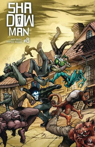 Shadowman #8 (20 Copy Cover)