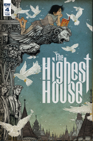 The Highest House #4 (Shimizu Cover)