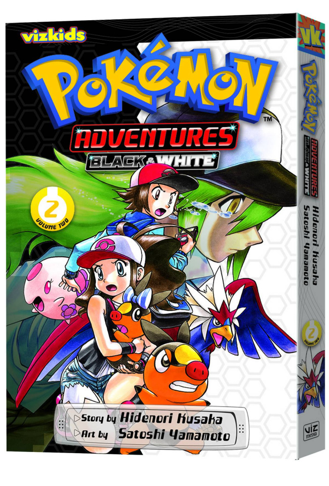 Pokémon Adventures: Black & White Vol. 2