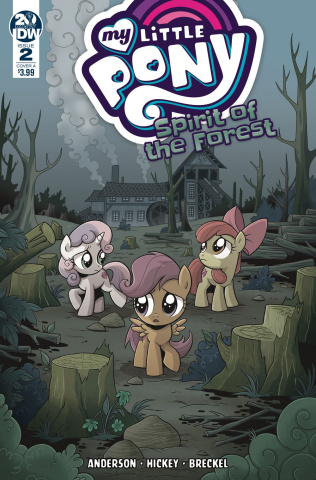My Little Pony: Spirit of the Forest #2 (Hickey Cover)