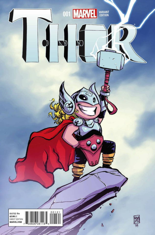 Thor #1 (Young Cover)