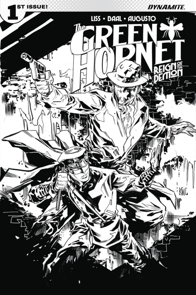 The Green Hornet: Reign of the Demon #1 (20 Copy Lashley Cover)