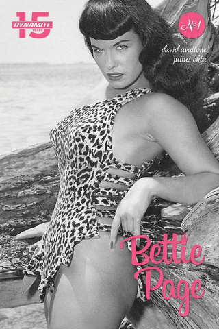 Bettie Page: Unbound #1 (Photo Cover)