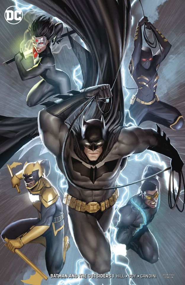 Batman and the Outsiders #1 (Variant Cover)