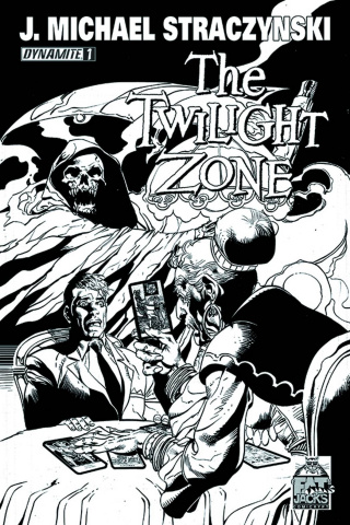 The Twilight Zone #1 (Fat Jack's Comicrypt B&W Cover)