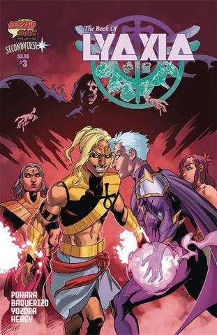 The Book of Lyaxia #3 (Basquerizo Cover)