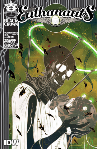 Euthanauts #3 (Robles Cover)