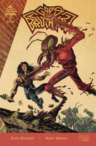Gods of Brutality #2 (Welser Cover)