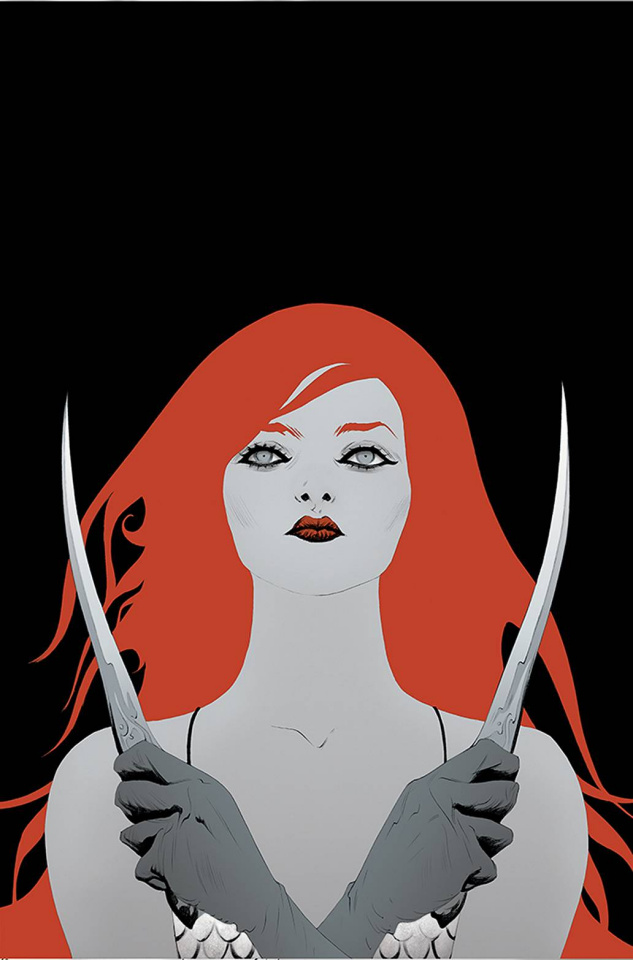 Red Sonja: Black, White, Red #4 (Lee Virgin Cover)