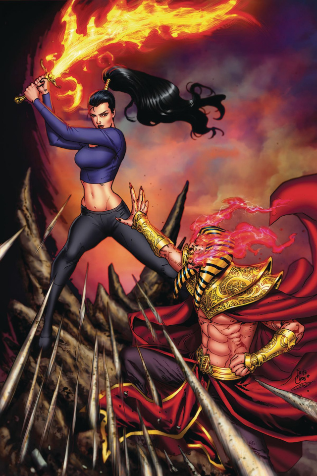 Grimm Fairy Tales: Dance of the Dead #6 (Casas Cover)