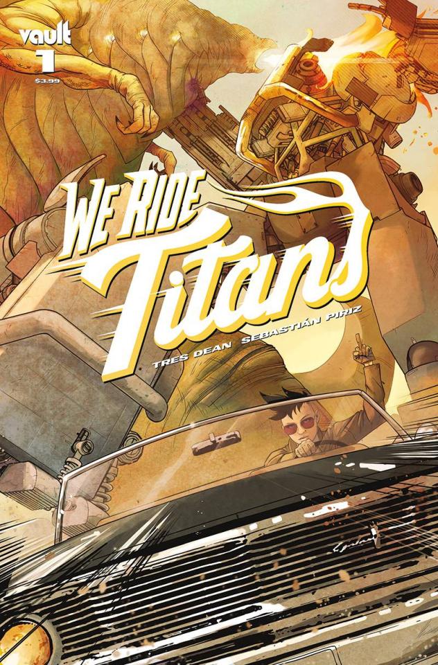 We Ride Titans #1 (Piriz Cover)