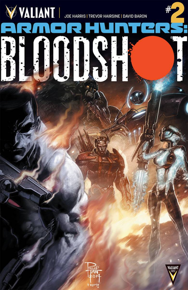 Armor Hunters: Bloodshot #2 (Tan Cover)