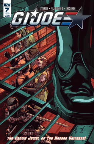 G.I. Joe #7 (Subscription Cover B)