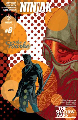 Ninjak #6 (Johnson Cover)