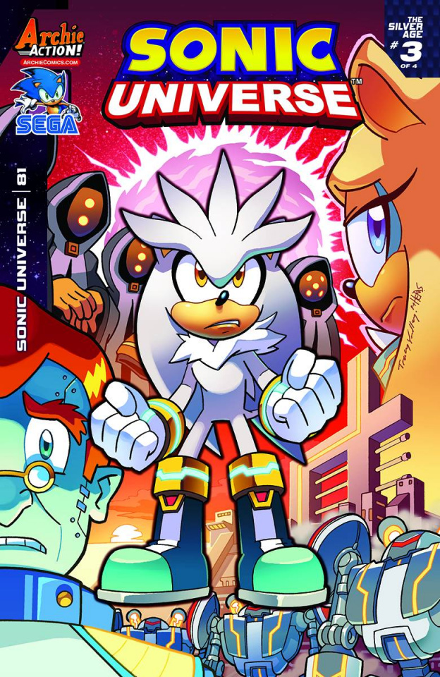 Sonic Universe #81 (Yardley Cover)