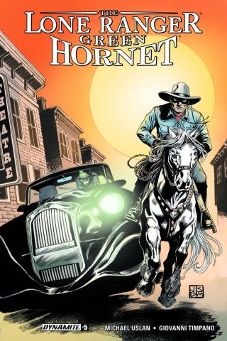 The Lone Ranger / The Green Hornet #5