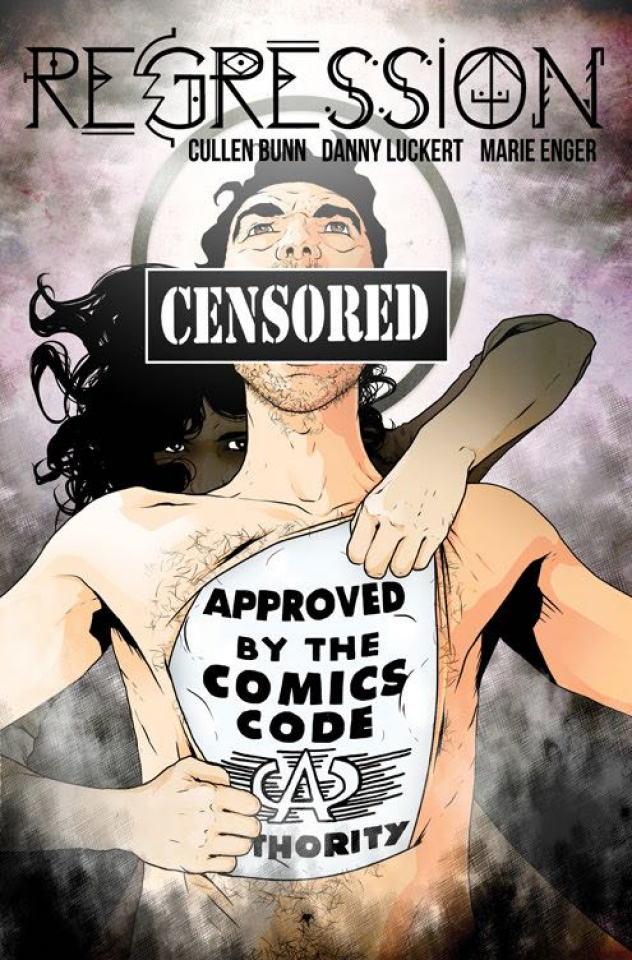 Regression #11 (CBLDF Charity Censored Cover)