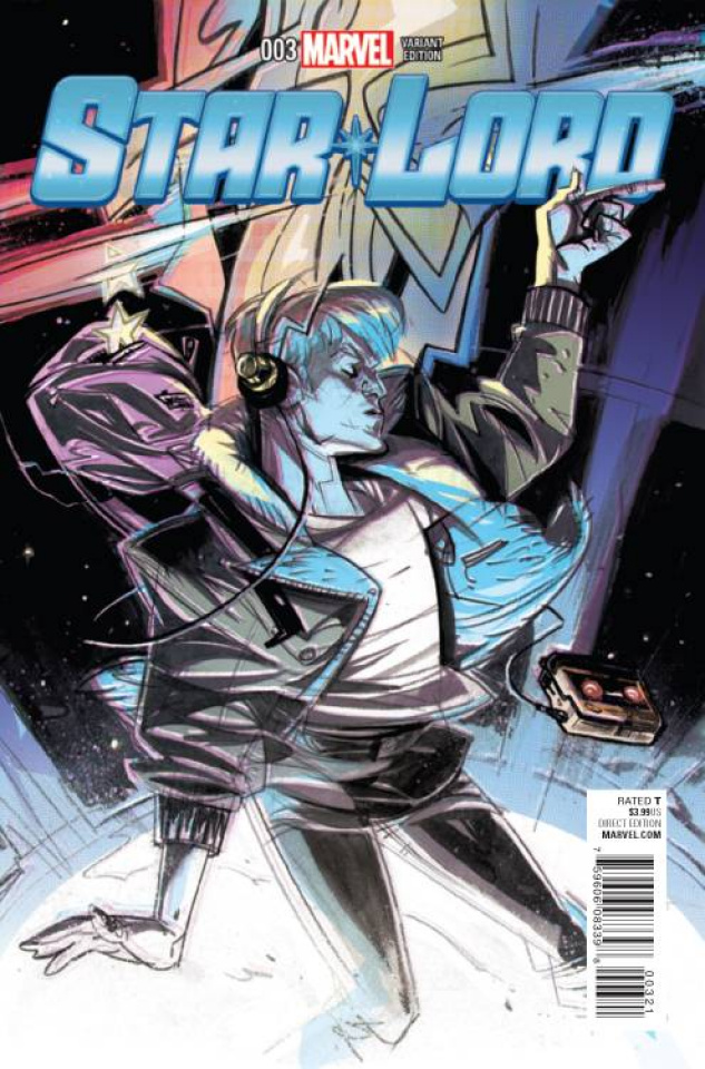 Star-Lord #3 (Visions Cover)