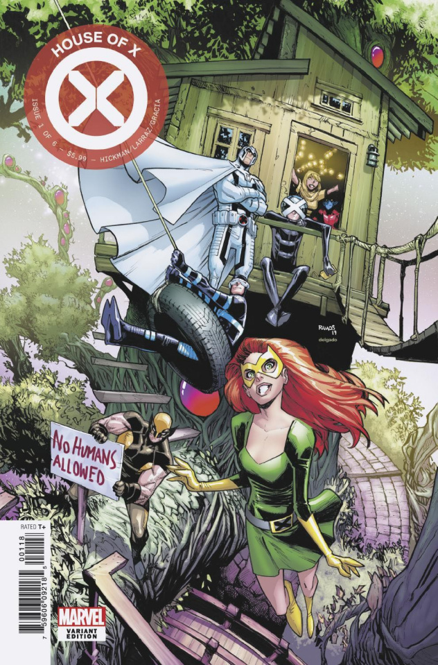 House of X #1 (Ramos Party Cover)