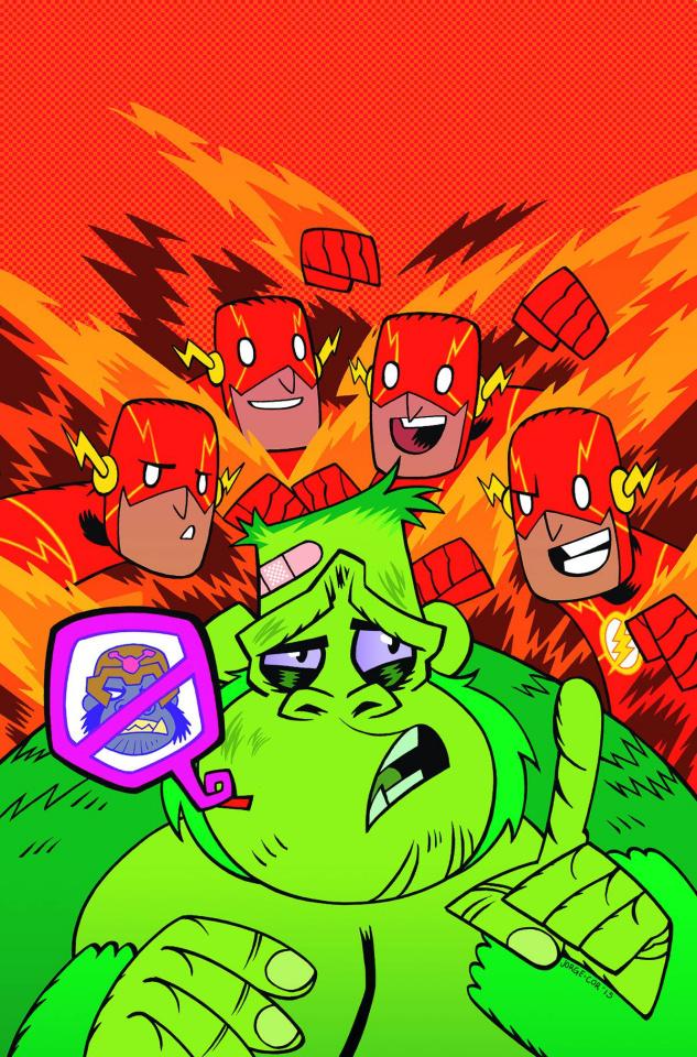 The Flash #42 (Teen Titans Go! Cover)